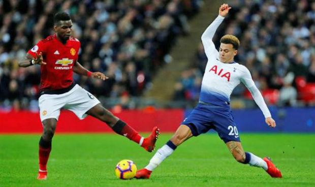 Paul Pogba against Tottenham