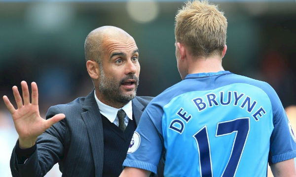 Pep Guardiola admits he is unfair