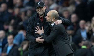 Pep Guardiola praised Jurgen Klopp