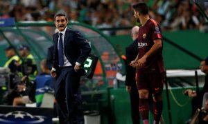 Ernesto Valverde denies the VAR controversy