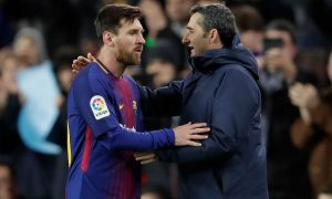 Barcelona coach Ernesto Valverde believes they have learned from their Roma defeat