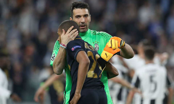 Gianluigi Buffon says it is normal for Kylian Mbappe to think of him as 'grandpa'