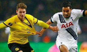 Lucien Favre believes Borussia Dortmund gifted the win to Tottenham Hotspur