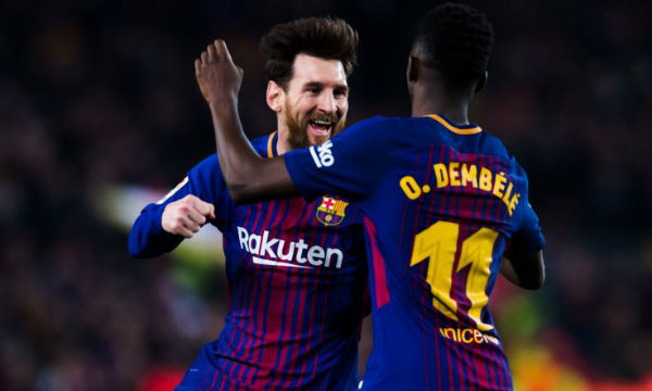 Ousmane Dembele believes Lionel Messi makes football 'easier'