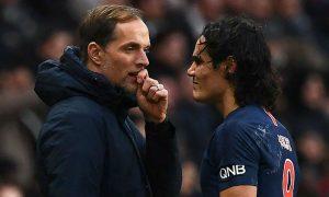 Thomas Tuchel admits Edinson Cavani and Marco Verratti could miss PSG's trip to Manchester United