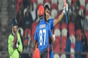 Zazai the highest T20 scorer for Afghanistan
