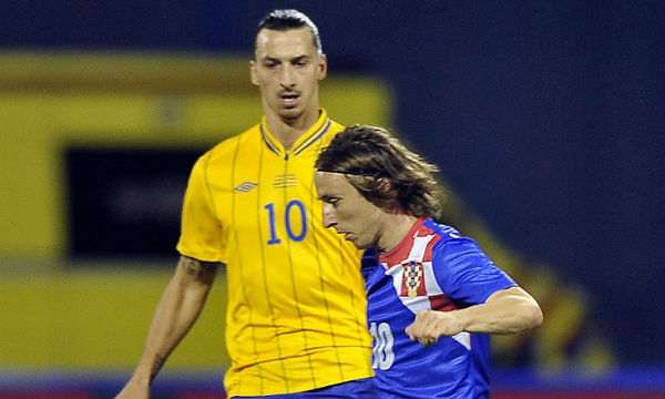 Zlatan Ibrahimovic is delighted by the Ballon d'Or win of Luka Modric