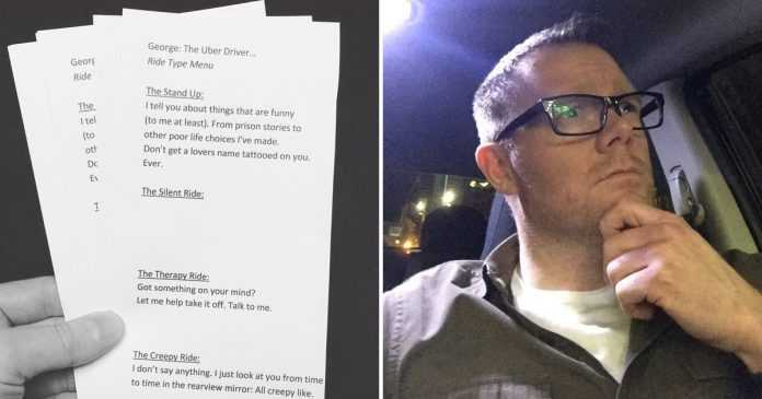 uber driver went viral due to unique services