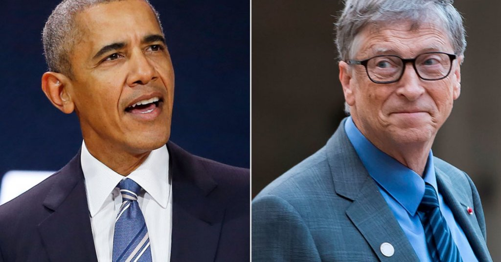 Books That Bill Gates And Barack Obama Suggests Reading