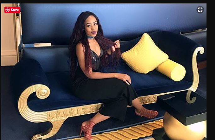 Pulane slams men for 'expecting' something after buying a lady a drink