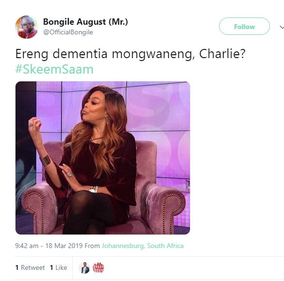 'Skeem Saam's' Charles Kunutu's debt collecting skills are on point