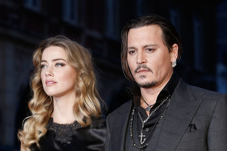 the Amber Heard and Johnny Depp Divorce