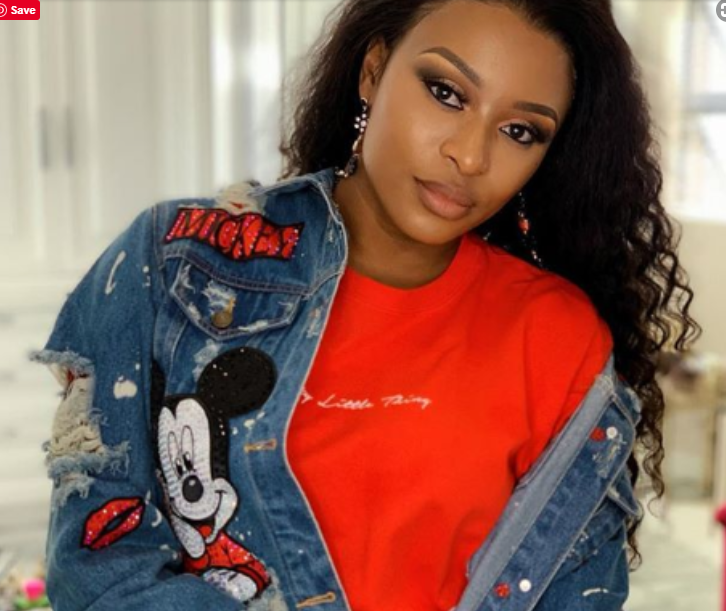 DJ Zinhle shows off her R70K Worth Designer shows