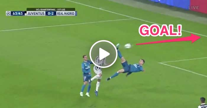 A Year Ago Today - One of the Greatest UCL goals - Cristiano Ronaldo's Sensational Overhead Kick in Turin!