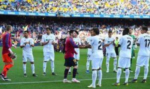 Barcelona 'celebrate' La Liga title in empty Camp Nou as fans booed Messi.