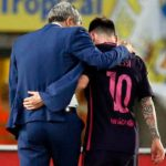 Quique Setien rejects the claim of Lionel Messi