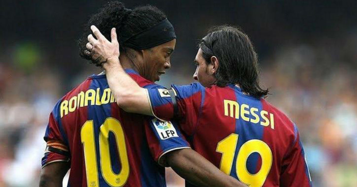 Ronaldinho is way better than Messi
