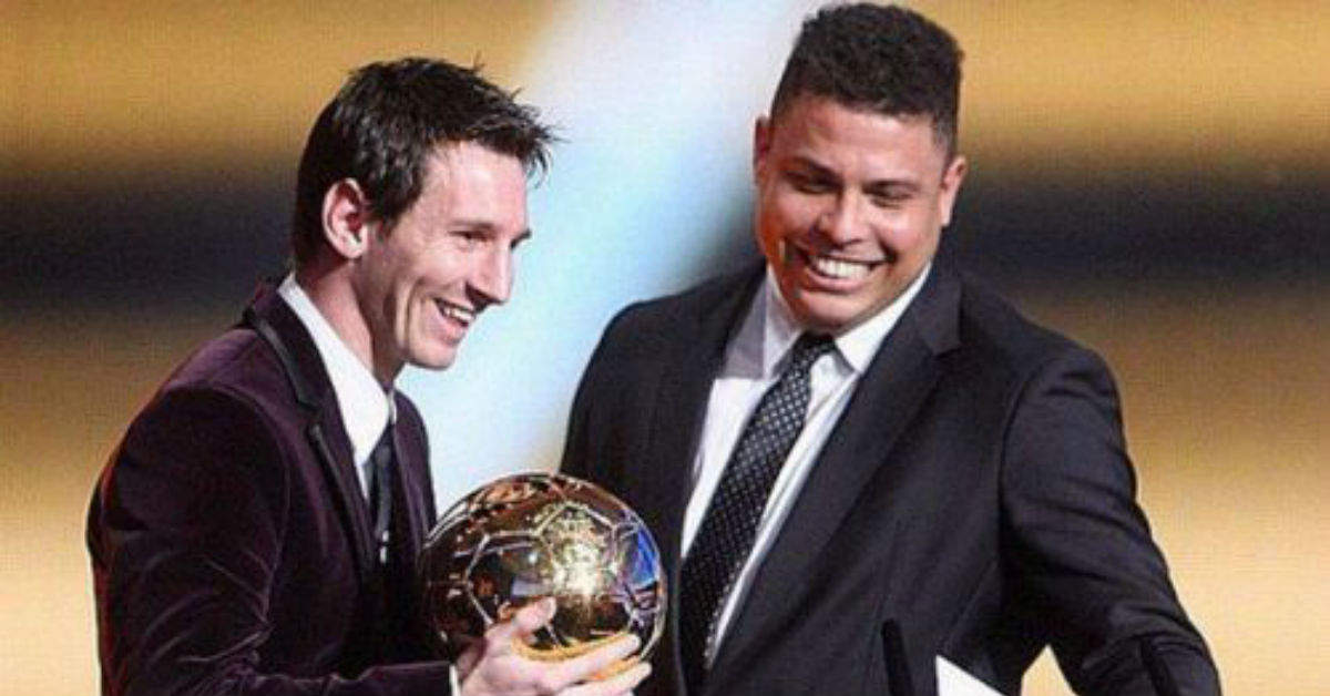 Lionel Messi is the only player to surpass the records of Ronaldo Nazario