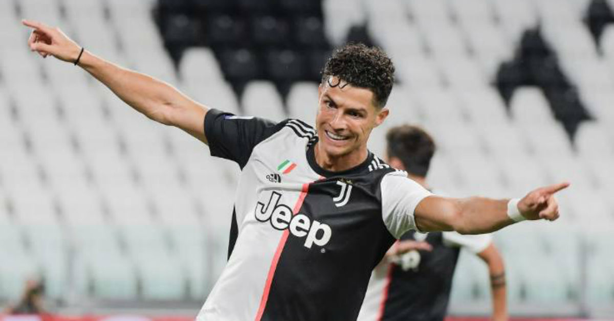 Cristiano Ronaldo dedicates this year's Serie A title of Juventus to fans battling Covid-19