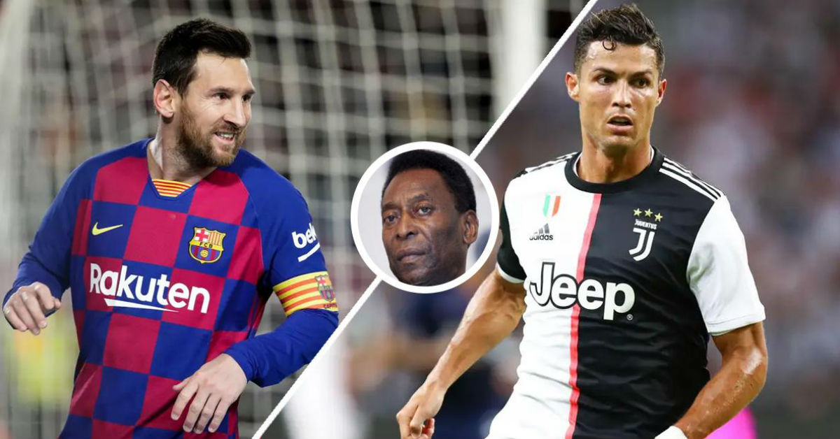 Tostao believes only a hybrid between Messi and Ronaldo could reach the level of Pele