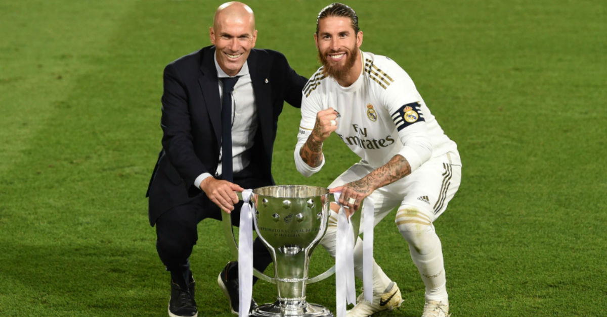 Sergio Ramos praises Zinedine Zidane