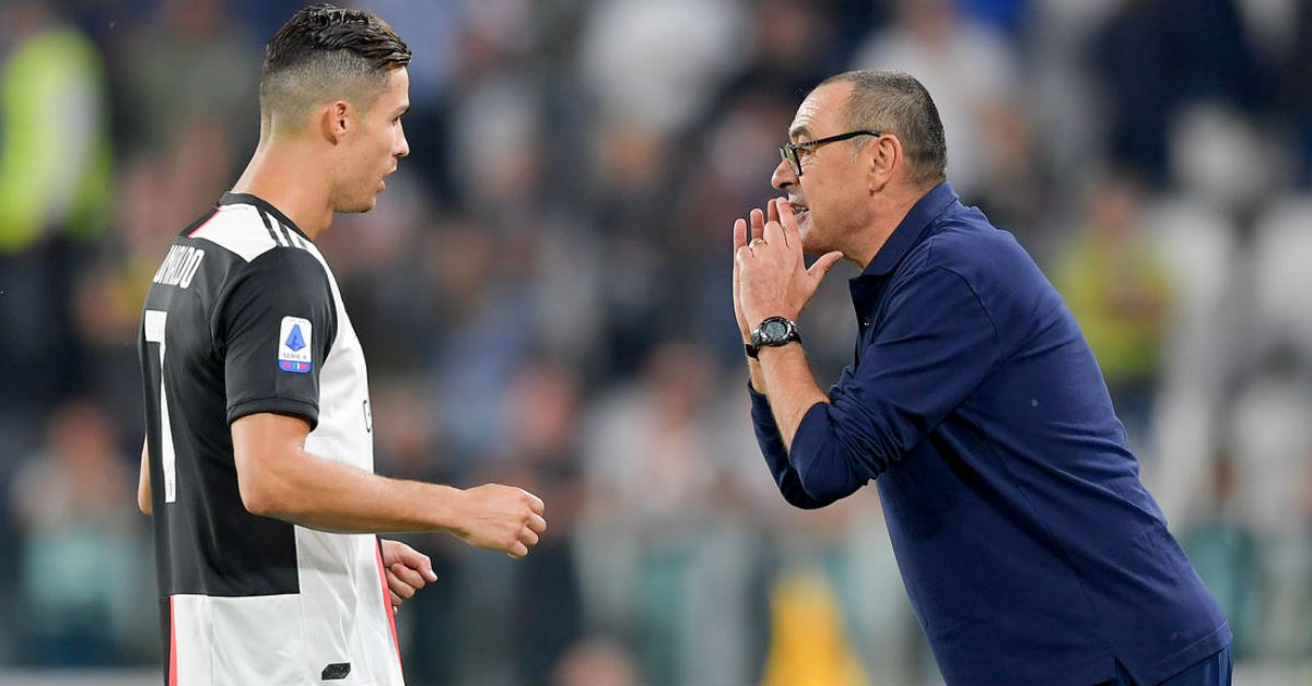 Maurizio Sarri believes Juventus is suffering from mental decline following the Serie A