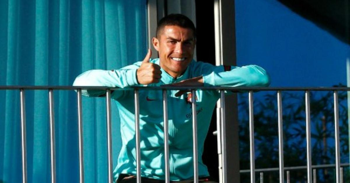 Cristiano Ronaldo claims that did not break the coronavirus rules