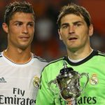 Iker Casillas ranks his former Real Madrid teammate Cristiano Ronaldo much higher