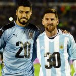 Luis Suarez says he talks a lot with Lionel Messi