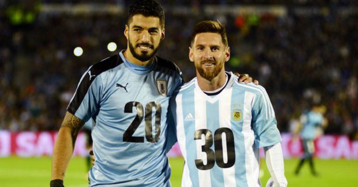 Luis Suarez says he talks a lot with Lionel Messi