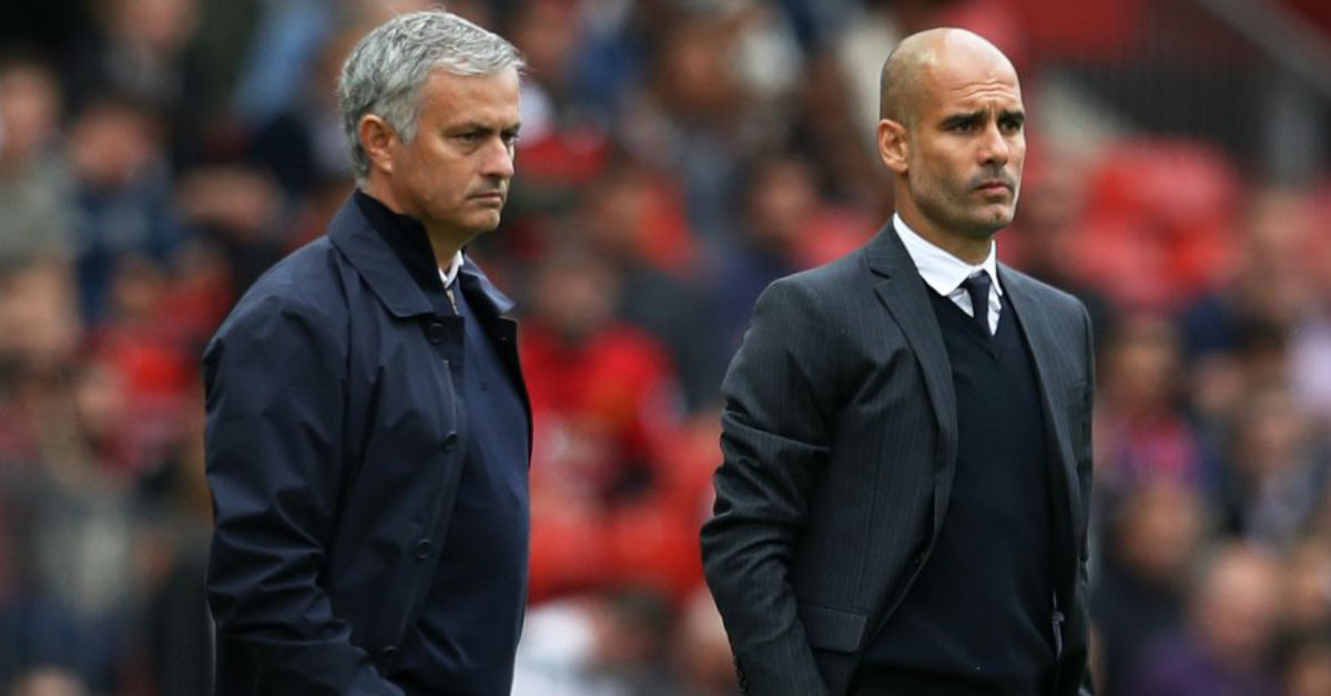 Pep Guardiola negates the recent claims of Jose Mourinho regarding Raheem Sterling