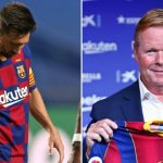 Barcelona manager Ronald Koeman believes Lionel Messi is still the best footballer