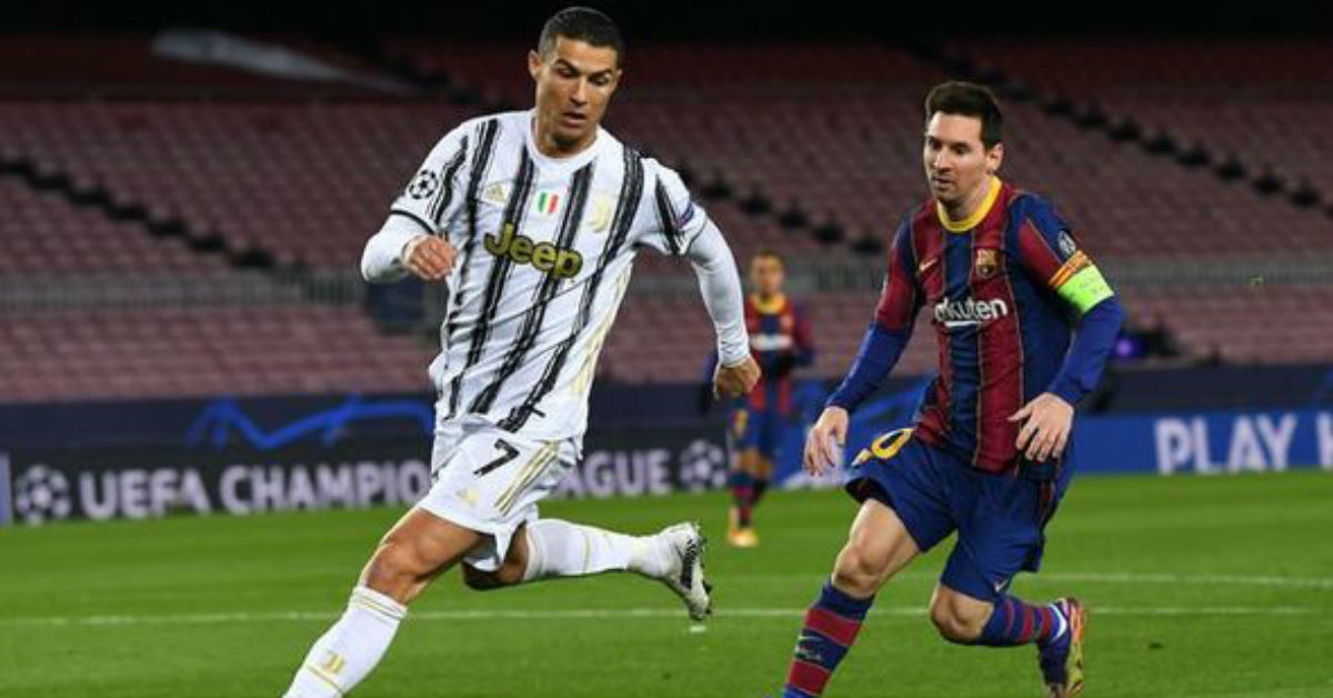 Cristiano Ronaldo says he never saw Lionel Messi as his archrival