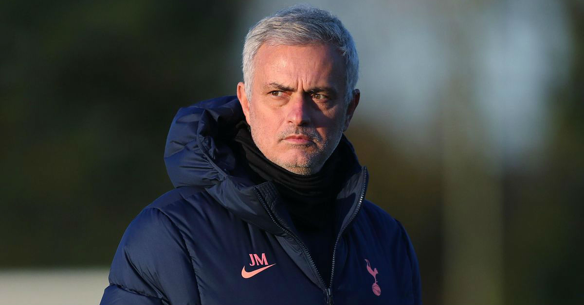 Jose Mourinho congratulated the Arsenal manager Mikel Arteta