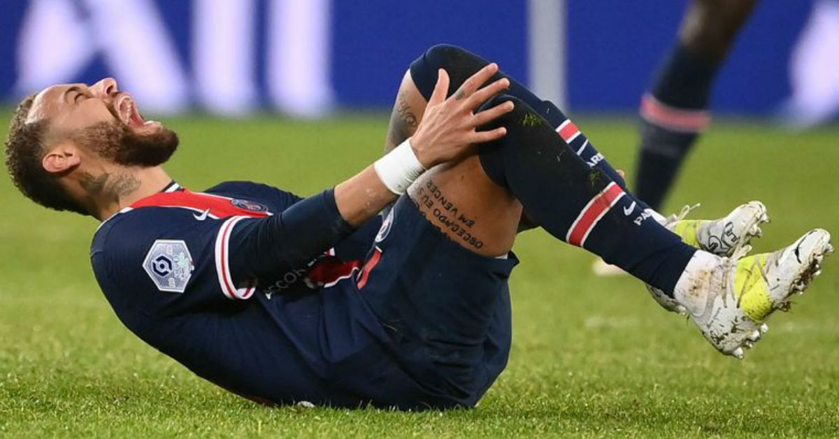 Neymar credited divine intervention as he thinks god saved him from serious ankle injury