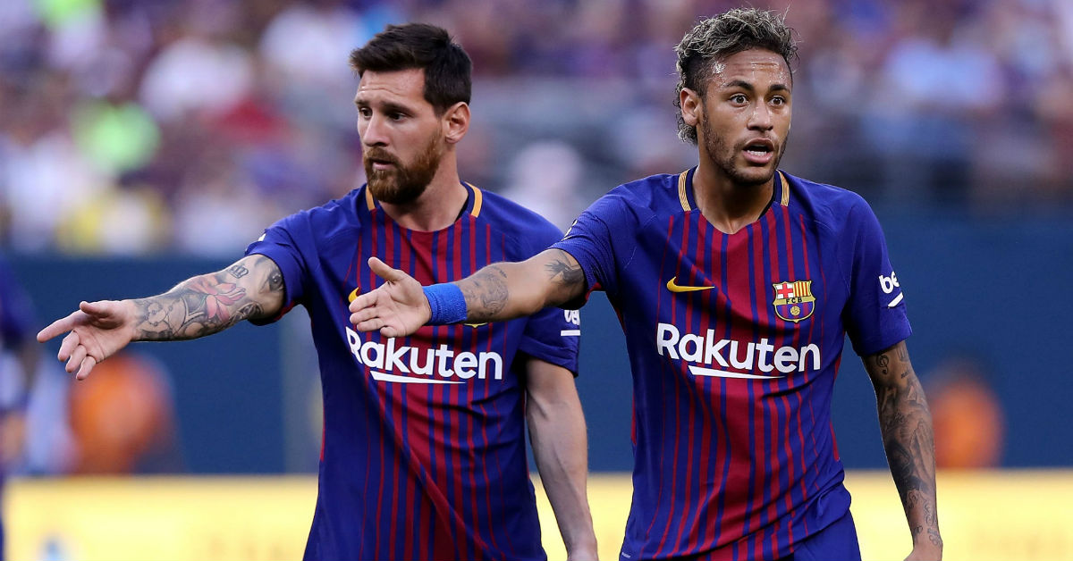 Neymar says he wants to play alongside Lionel Messi next season