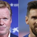Ronald Koeman believes Lionel Messi needs a bit rest from his Barcelona duty