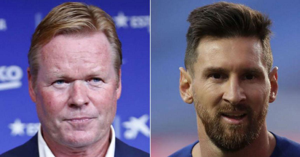 Ronald Koeman believes Lionel Messi needs a bit rest from his Barcelona duty